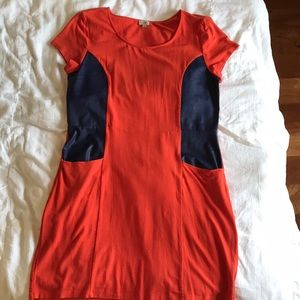 Cremieux short sleeve dress